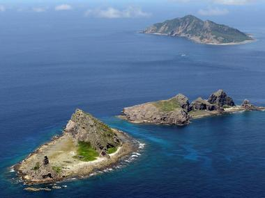 A group of disputed islands, Uotsuri island (top), Minamikojima (bottom) and Kitakojima, known as Senkaku in Japan and Diaoyu in China is seen in the East China Sea. Reuters