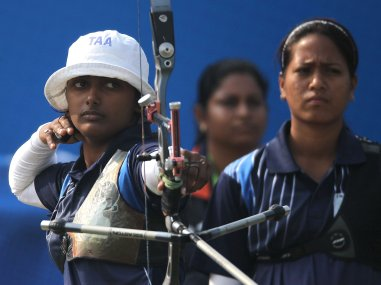 File photo of Deepika  Kumari. Getty