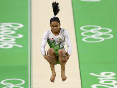 Dipa Karmakar performed the Produnova vault at Rio Olympics 2016. Reuters