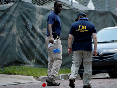 File image of FBI investigators. Reuters