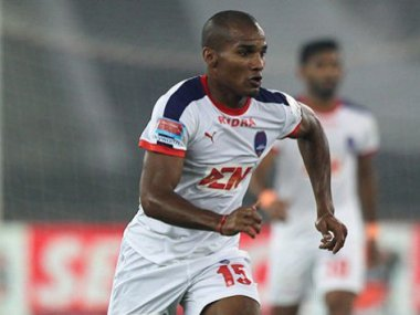 Florent Malouda returns to Delhi Dynamos as their marquee player. Image courtesy: Twitter/@IndSuperLeague