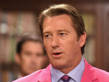 File photo of Australian pace legend Glenn McGrath. Getty Images