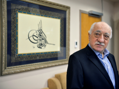 US-based cleric Fethullah Gulen at his home in Saylorsburg, Pennsylvania. Reuters