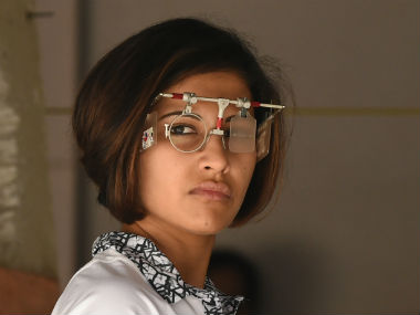 File image of India's ace shooter Heena Sidhu. AFP