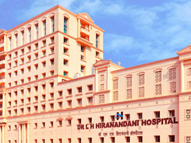 LH Hiranandani Hospital, Powai. Screenshot from hospital website.