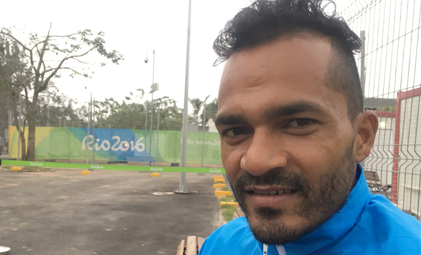Nitendra Singh Rawat is the fastest man in India – as far as the marathon event in Rio Olympics is concerned.