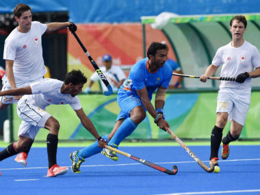 File photo of Indian hockey team. PTI