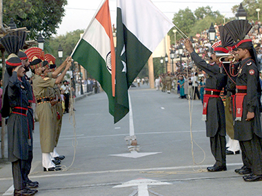 Representational image of India and Pakistan flags. Getty images