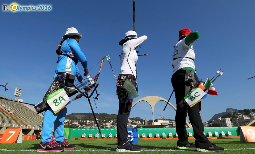 File photo of Indian women's archery team. Image credit: Reuters