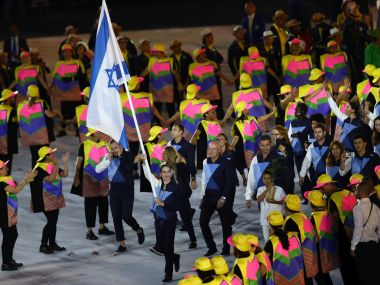 Israel's Olympic opening ceremony. Getty