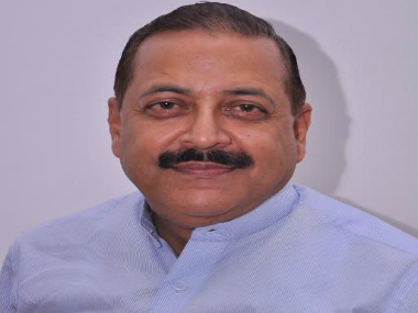 File photo of Jitendra Singh. Twitter