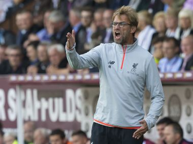 File photo of Liverpool manager Jurgen Klopp. AFP