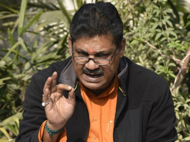 File photo of former cricketer and suspended MP Kirti Azad. Image courtesy: News18
