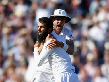 Moeen Ali was awarded the Man of the Match award for his all-round performance. Getty Images