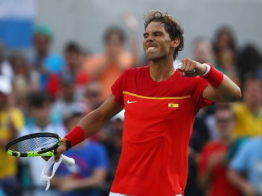 Rafael Nadal. Getty Images