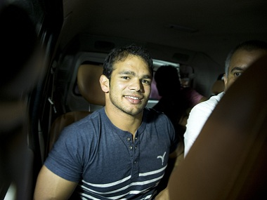 Narsingh Yadav was exonerated by NADA on Monday. AP