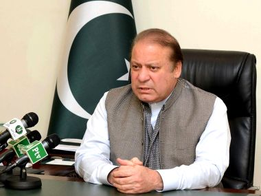 File photo of Pakistan Prime Minister Nawaz Sharif. AFP