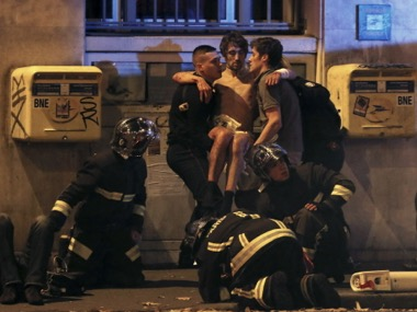 Representational image of survivors in the Paris attack. Reuters