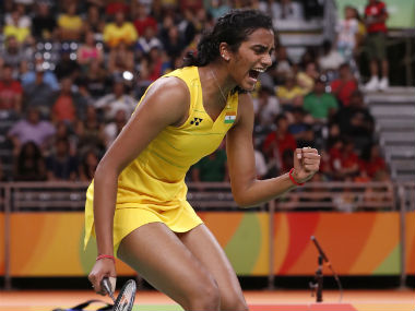PV Sindhu won straight games with scorelines of 22-20, 21-19. AP