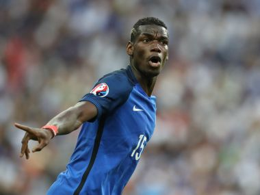 Paul Pogba file photo. AFP
