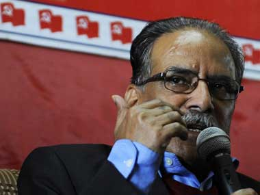 A file photo of Prachanda. AFP