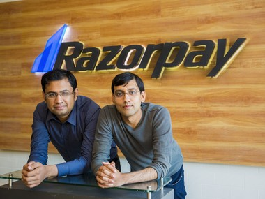 Harshil Mathur (left), Shashank Kumar, co-founders, Razorpay