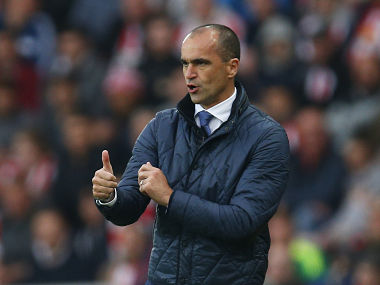File photo of Roberto Martinez. Reuters