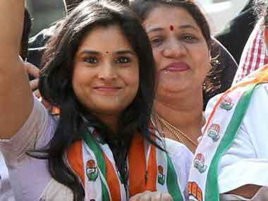 Actor-politician Ramya. File photo. PTI