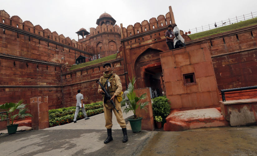 File image of security at Red Fort. Reuters.