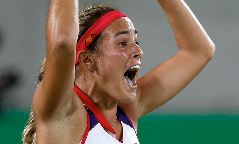 File photo of Monica Puig. AP