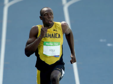 Usain Bolt clocked 10.07 seconds during the men's 100m heats on Day 8. Getty Images