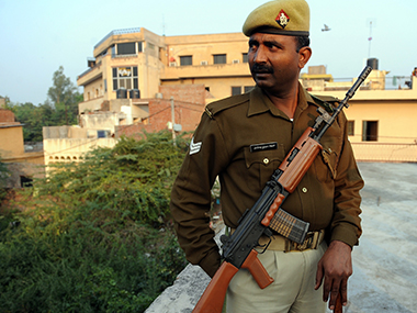 File image of Uttar Pradesh police. AFP