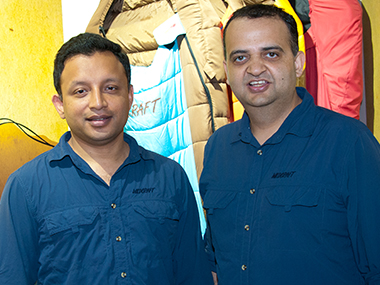 Gaurav Dublish (left), Siddharth Sood, co-founders, Wildcraft