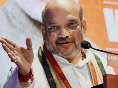 File image of Amit Shah. CNN-News18