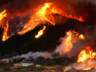 California Wildfire. AFP.