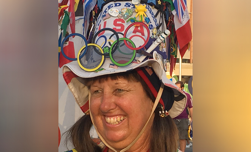 Meet Vivianne Robinson, a resident of Venice Beach in Florida, United States, who has been to five Olympics so far.