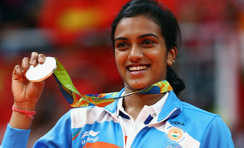 PV Sindhu became the first female athlete to win an Olympic silver medal.