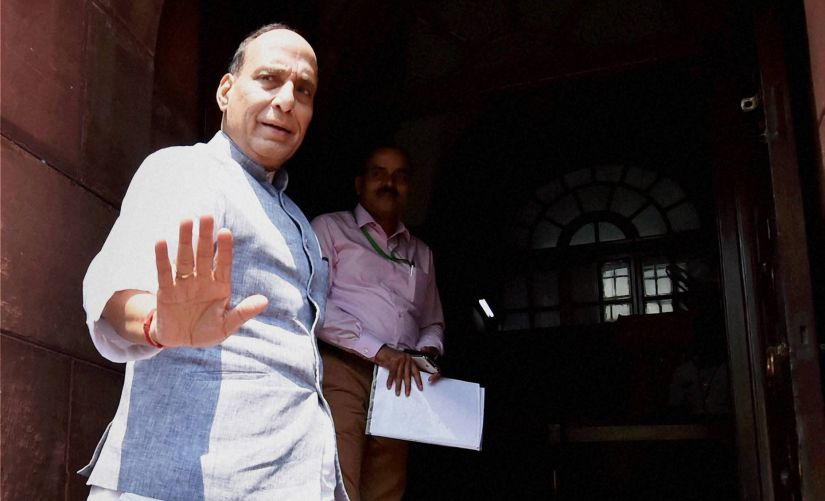 Saarc was not on Rajnath Singh itinerary, went just to stare down Hafiz Saeed and Pakistan