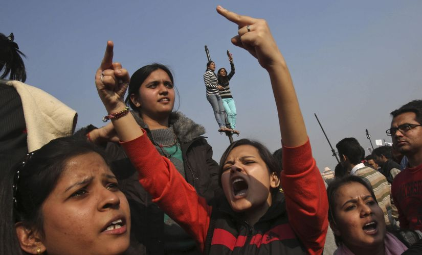 A file photo of demonstrators protesting violence against women in New Delhi. Reuters