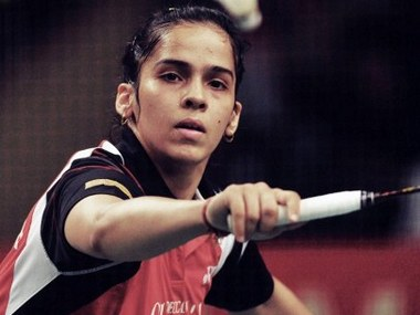 Saina Nehwal has been in decent form of late after an injury scare in January-February. AFP file image