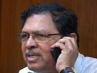 File photo of N Santosh Hegde.