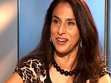 Shobhaa De. Image courtesy: CNN-News18