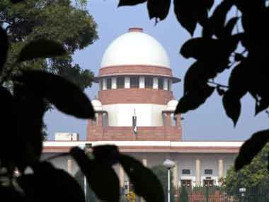 File image of the Supreme Court of India. Reuters