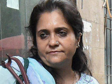 A file photo of Teesta Setalvad. PTI