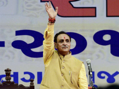 File photo of Gujarat CM Vijay Rupani. PTI