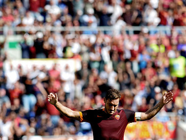 File photo of Francesco Totti. AFP