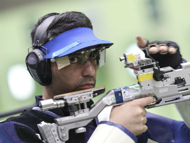 Abhinav Bindra is India's lone individual Olympic gold medallist. AP