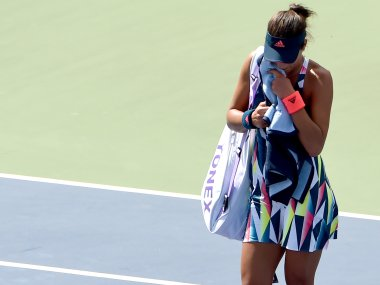 Ana Ivanovic has decided to end her season early to address her wrist and toe injuries. AFP
