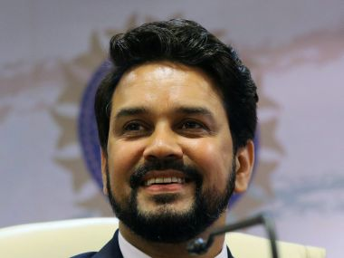 File photo of Anurag Thakur. Reuters