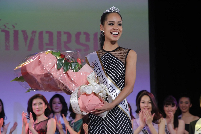 Ariana Miyamoto was the first 'haafu' to win the Miss Japan title. She placed in the top-10 at the Miss Universe 2015 pageant. Image courtesy Facebook